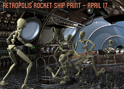 Retropolis Rocket Ship on Kickstarter