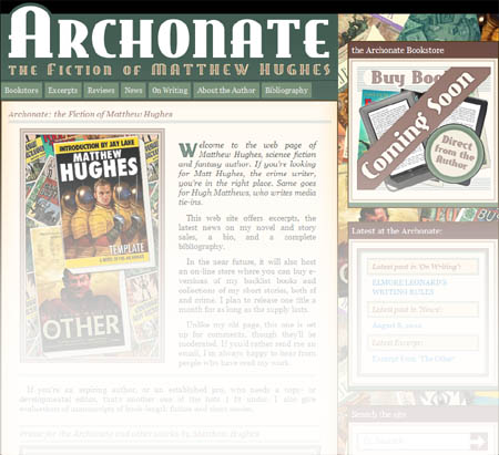 Matthew Hughes' Web Site