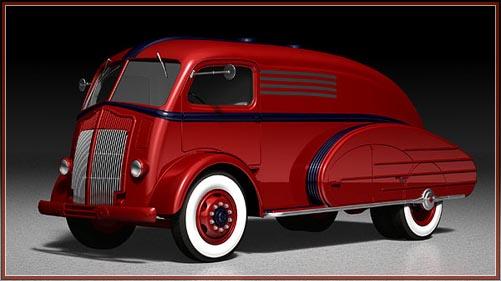vintage truck model