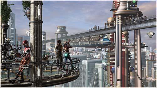 Still Building The City Of Tomorrow Retro Futuristic
