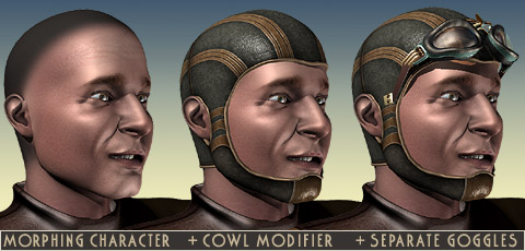 How to grow an aviator's helmet