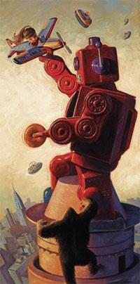 Robo Kong Print