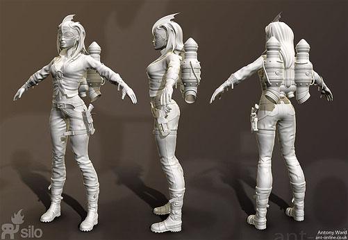 Rocket Girl Model