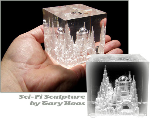sci fi sculpture by gary haas