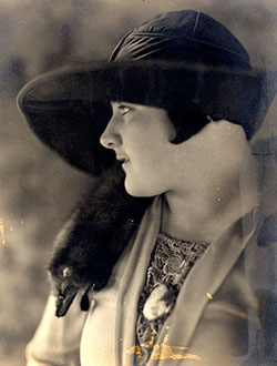 Blanche Fagan, 1922