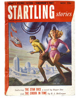 Startling Stories Sci Fi Pulp Cover