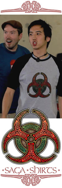 Celtic Biohazard T-Shirt from The Guild, Season 5
