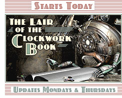 Starts Today: The Lair of the Clockwork Book