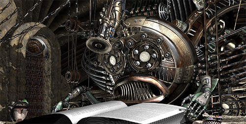 The Steampunk Clockwork Book