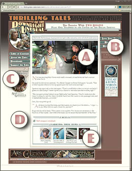 Thrilling Tales of the Downright Unusual: a Help page