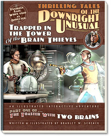 Trapped in the Tower of the Brain Thieves: on sale at Amazon