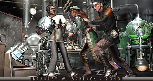 Hijinks in the Secret Laboratory