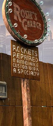 Rosie's Rocket Repair Shop