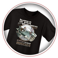 Thrilling Tales T-Shirts
