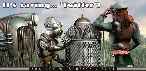 Thrilling Tales Updates - now on Twitter
