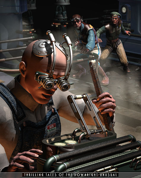 The Goggles of the future are a permanent accessory