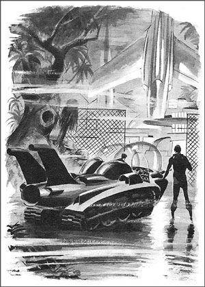 Science Fiction Illustration by Wally Wood