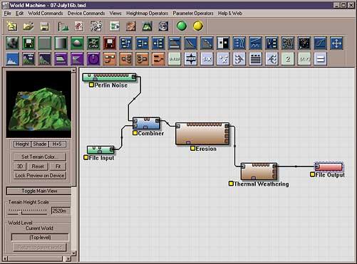 World Machine graph view