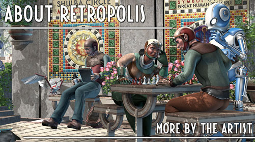 Retropolis: the Art of Retro Future