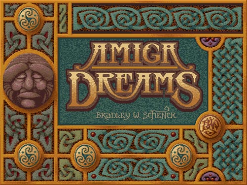 Amiga Dreams title screen (1987)