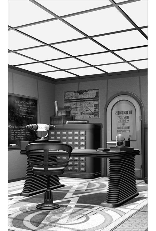 Retropolis Registry of Patents, Office of Ben Bowman - left