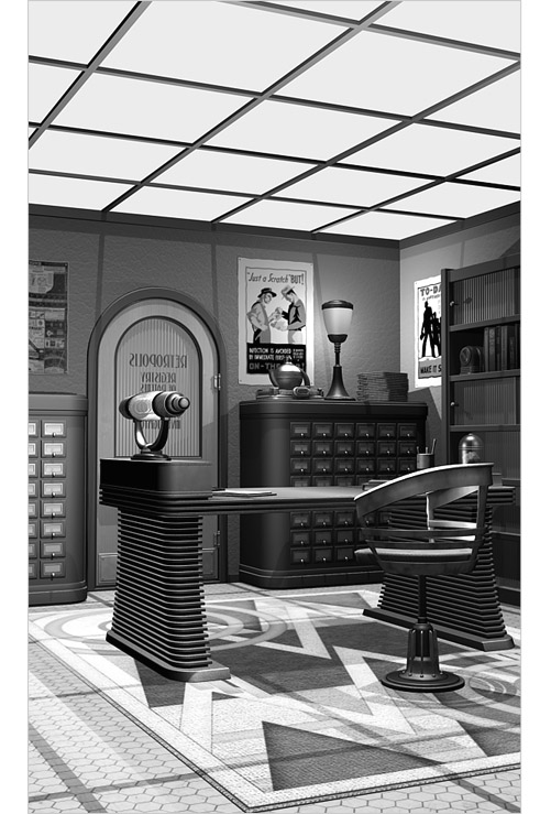 Retropolis Registry of Patents, Office of Ben Bowman - right