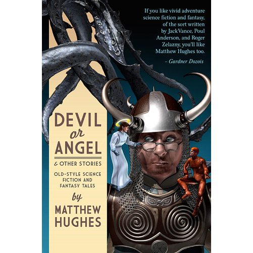 Front cover for 'Devil or Angel & Other Stories'