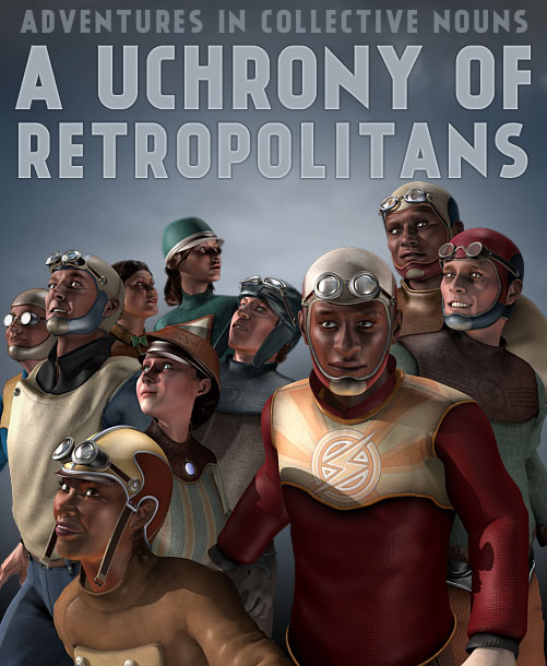 New Retropolis characters
