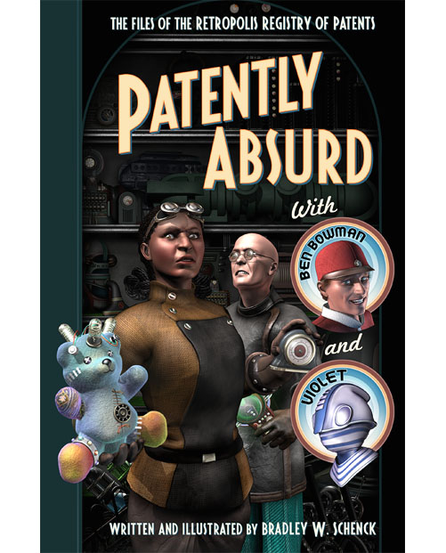 Cover for 'Patently Absurd'