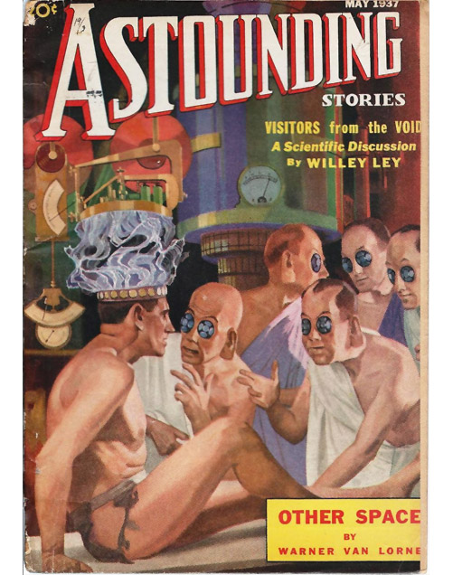 Astounding Stories cover