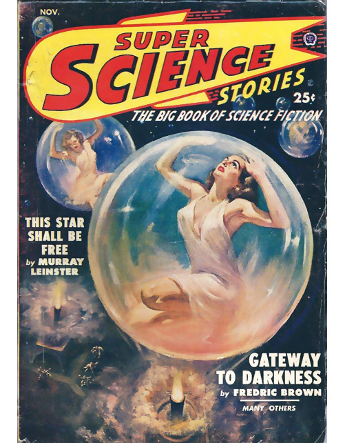 Super Science Stories cover