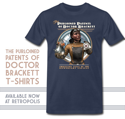 T-Shirt: The Purloined Patents of Doctor Brackett