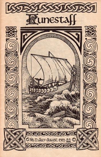 Runestaff cover for #21