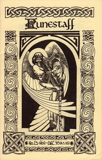 Runestaff cover for #23