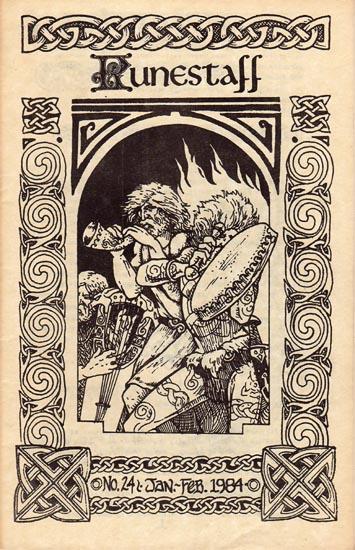 Runestaff cover for #24