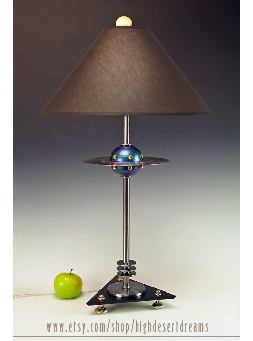 UFO Lamp by High Desert Dreams