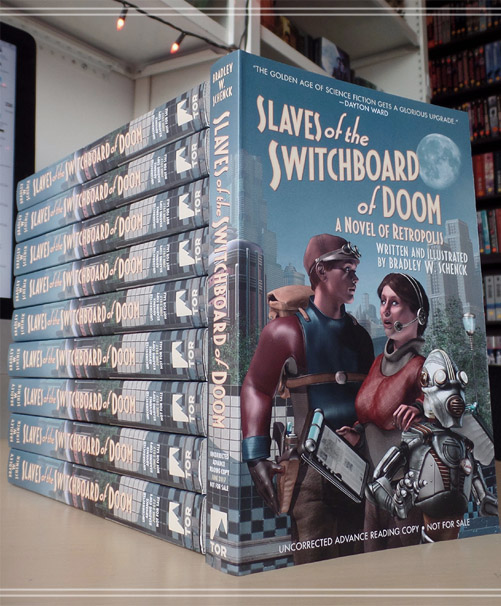 ARCs of Slaves of the Switchboard of Doom