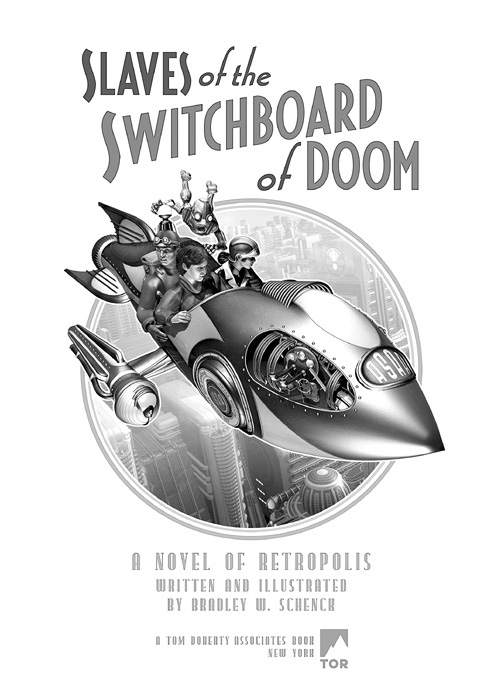 Title page for 'Slaves of the Switchboard of Doom'
