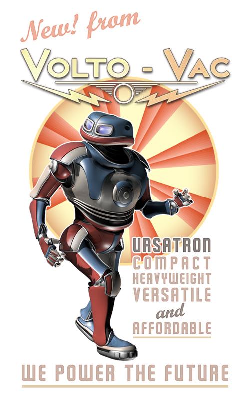 Volto-Vac's new Ursatron robot