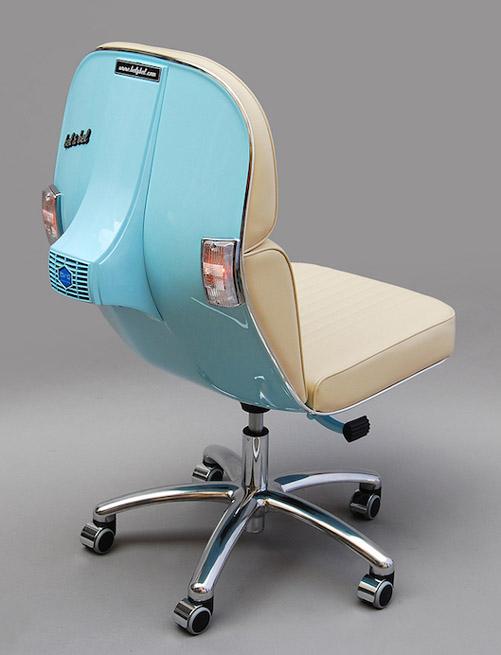 Vespa office chair by Bel & Bel Studios