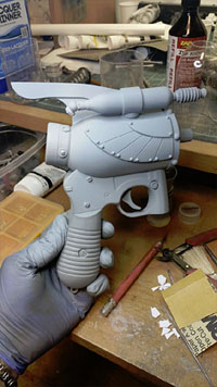 Winged Victory Raygun from Resinator Lab