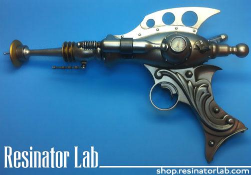 Retrofuturistic ray gun