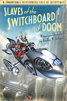 Cover concept for Slaves of the Switchboard of Doom