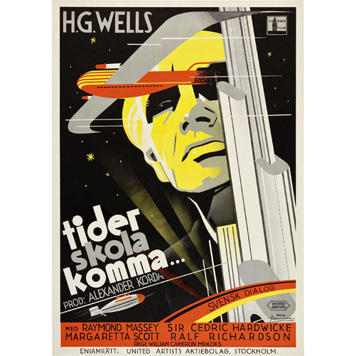 Things to Come - Swedish movie poster