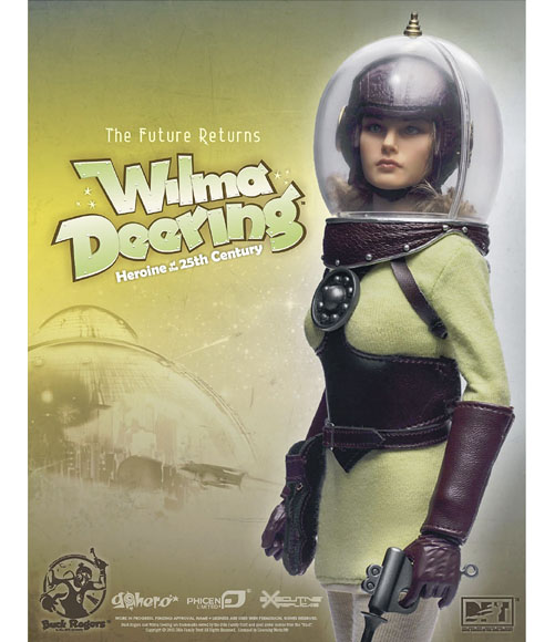 Wilma Deering Figure from Go Hero