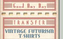 Vintage Retro Futuristic Tee Shirts
