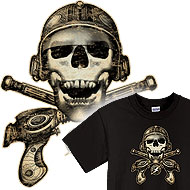 Space Pirate Tees