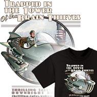 Retro Rocket T-Shirts