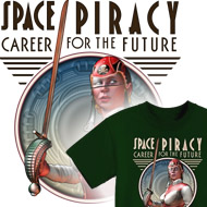 Space Pirate T-Shirts