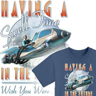 Having a Swell Time in the Future T-Shirts